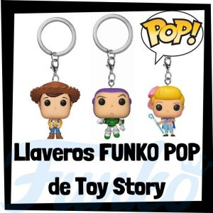 Los mejores llaveros FUNKO POP de Toy Story de Disney - Llavero Funko POP de Toy Story 4 - Keychain FUNKO Pocket POP de Disney