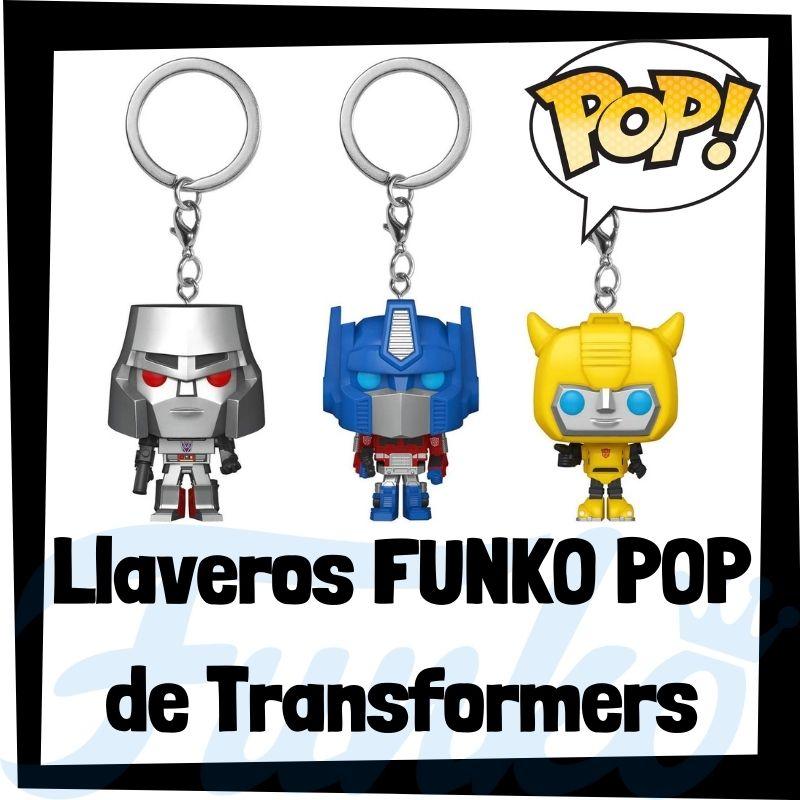 Los mejores llaveros FUNKO POP de Transformers