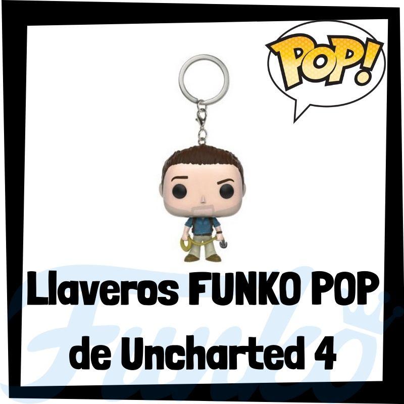 Los mejores llaveros FUNKO POP de Uncharted 4