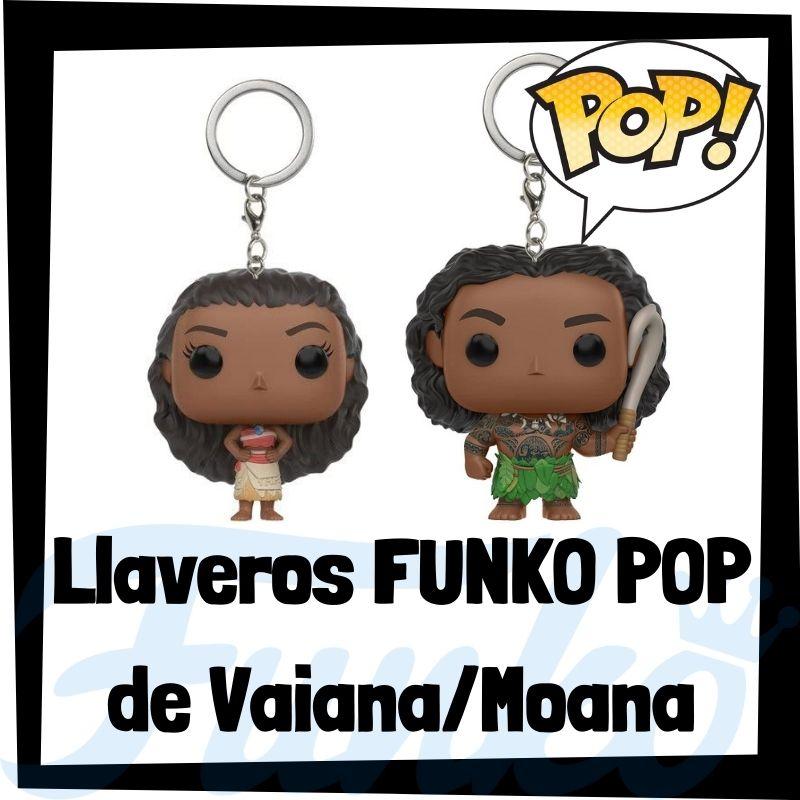 Los mejores llaveros FUNKO POP de Vaiana