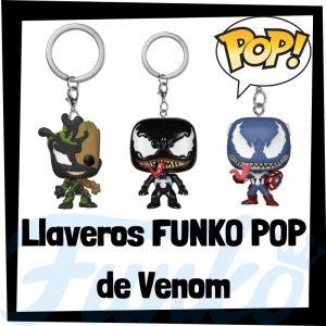 Los mejores llaveros FUNKO POP de Venom de los Vengadores de Marvel - Llavero Funko POP de Venomized - Keychain Pocket FUNKO POP de Marvel