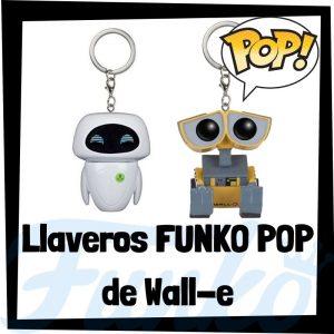 Los mejores llaveros FUNKO POP de Wall-e de Disney - Llavero Funko POP de Wall-e - Keychain FUNKO Pocket POP de Disney