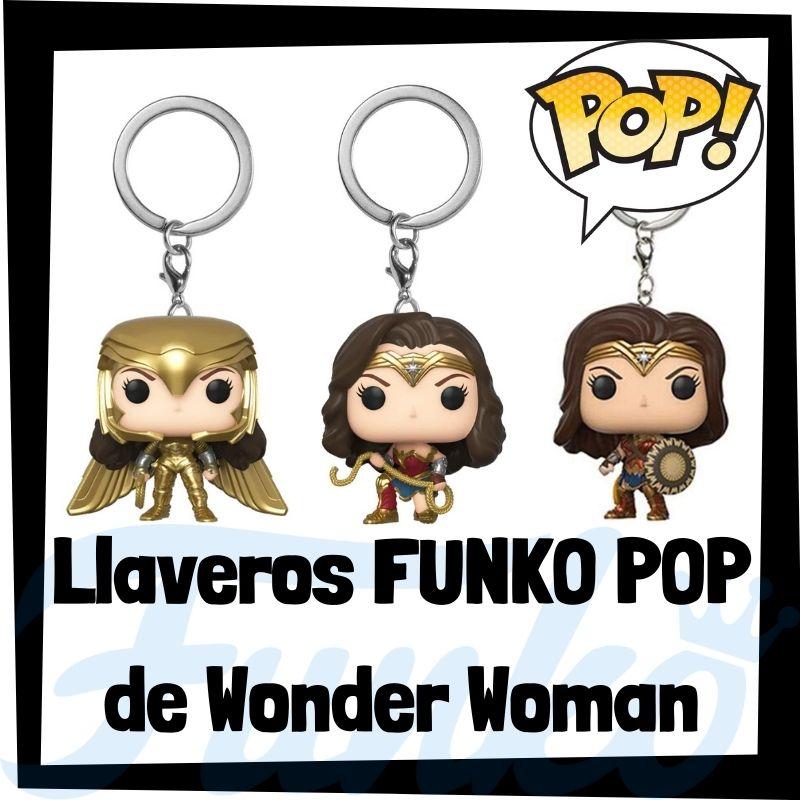 Los mejores llaveros FUNKO POP de Wonder Woman