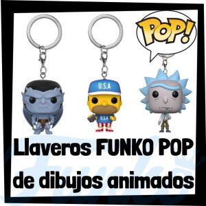 Los mejores llaveros FUNKO POP de dibujos animados - Llavero Funko POP de dibujos - Keychain FUNKO POP de series