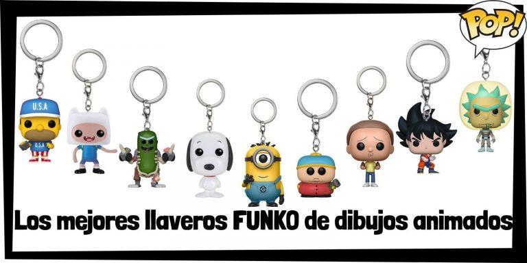 Los mejores llaveros FUNKO POP de dibujos animados - Llaveros Funko POP Pocket de dibujos animados - Keychain FUNKO POP