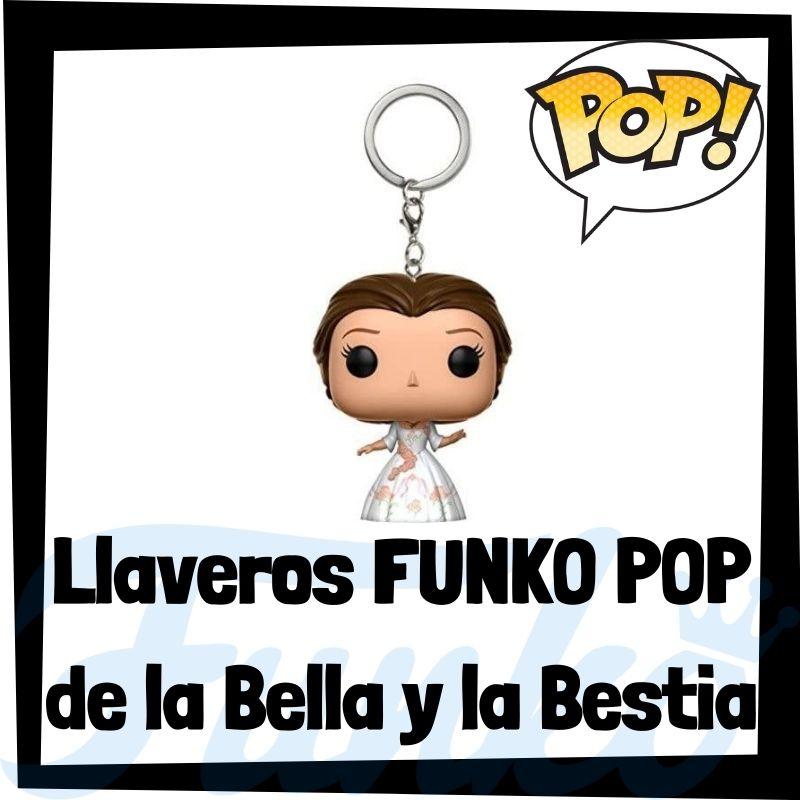 Los mejores llaveros FUNKO POP de la Bella y la Bestia