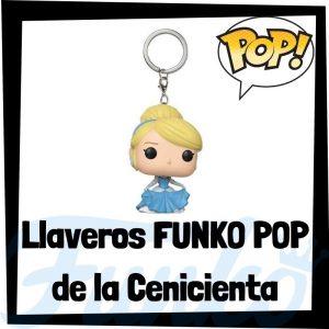 Los mejores llaveros FUNKO POP de la Cenicienta de Disney - Llavero Funko POP de la Cenicienta - Keychain FUNKO Pocket POP de Disney