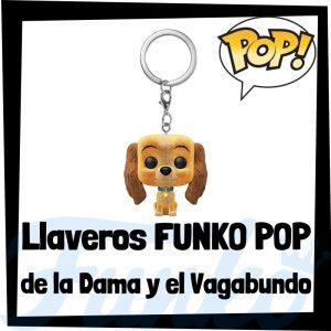 Los mejores llaveros FUNKO POP de la Dama y el Vagabundo de Disney - Llavero Funko POP de la Dama y el Vagabundo - Keychain FUNKO Pocket POP de Disney