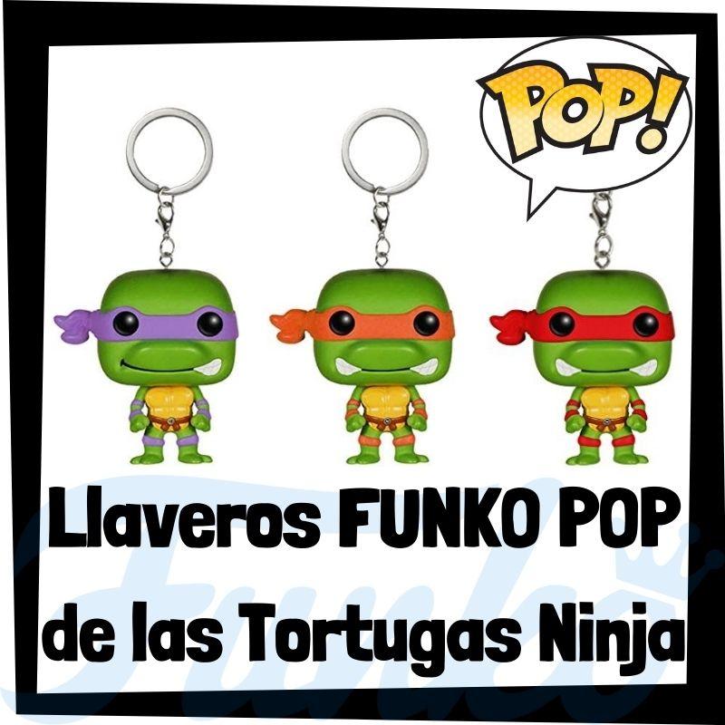 Los mejores llaveros FUNKO POP de las Tortugas Ninja