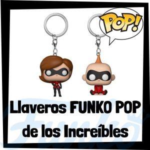 Los mejores llaveros FUNKO POP de los Increibles de Disney Pixar - Llavero Funko POP de los Increibles - Keychain FUNKO Pocket POP de Disney
