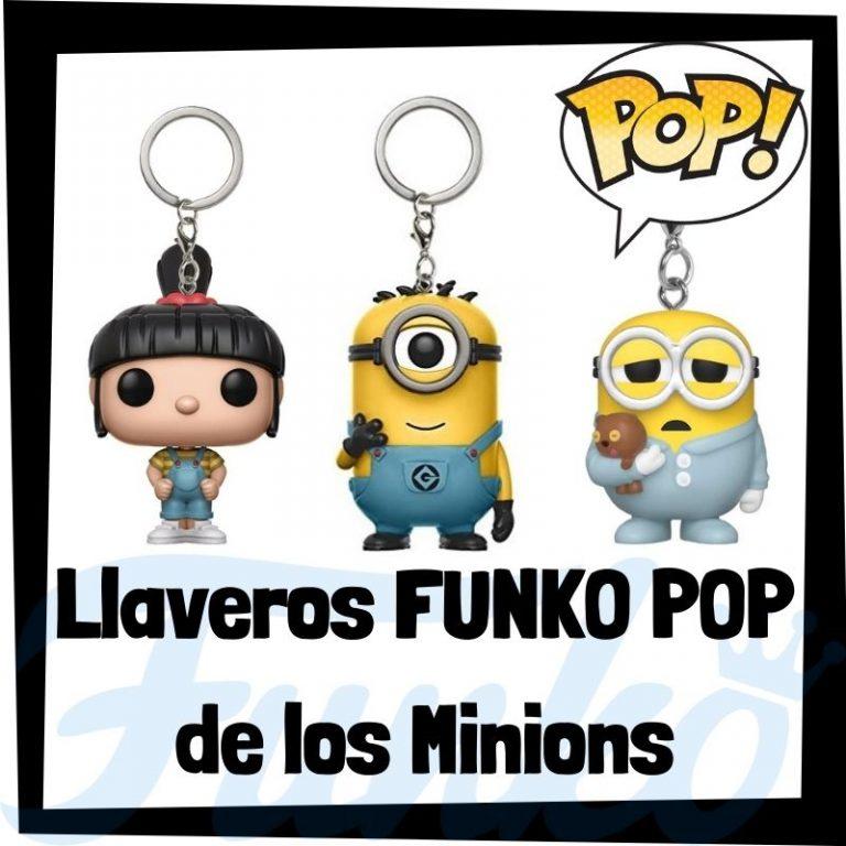 Lee más sobre el artículo Los mejores llaveros FUNKO POP de los Minions