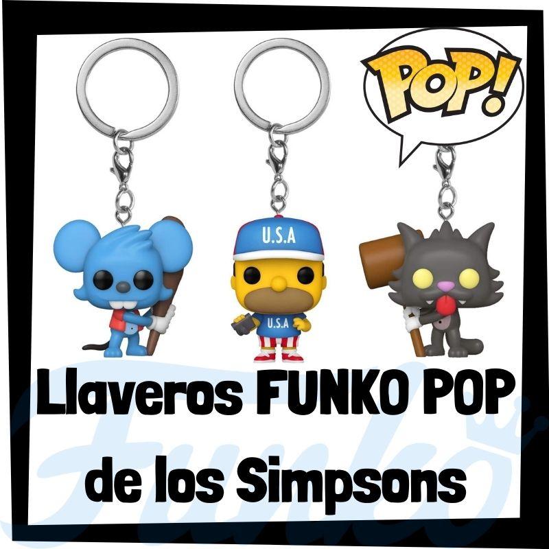 Los mejores llaveros FUNKO POP de los Simpsons