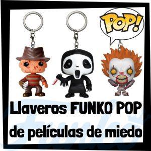Los mejores llaveros FUNKO POP de películas de miedo - Llavero Funko POP de personajes de películas de terror - Keychain FUNKO POP Pocket de miedo
