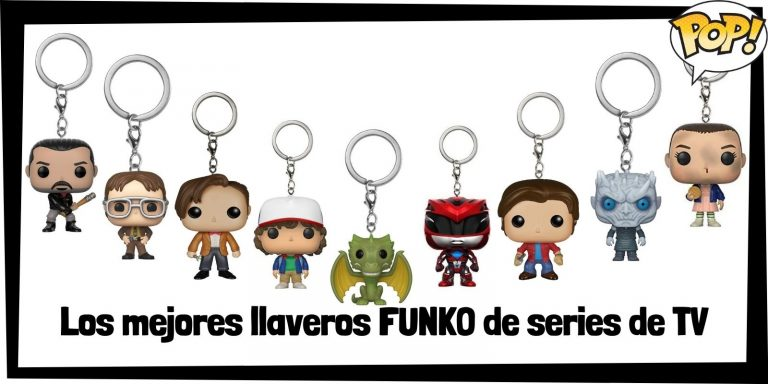 Los mejores llaveros FUNKO POP de series de tv - Llaveros Funko POP Pocket de series - Keychain FUNKO POP
