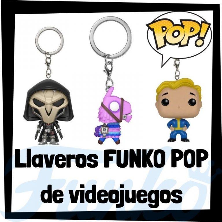 Los mejores llaveros FUNKO POP de videojuegos