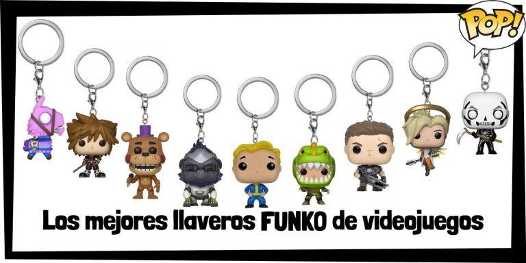 Los mejores llaveros FUNKO POP de videojuegos -Llaveros Funko POP Pocket de todos los videojuegos - Keychain FUNKO POP