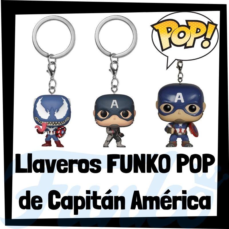 Los mejores llaveros FUNKO POP del Capitán América