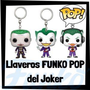 Los mejores llaveros FUNKO POP del Joker de DC - Llavero Funko POP Pocket del Joker - Keychain FUNKO POP de DC