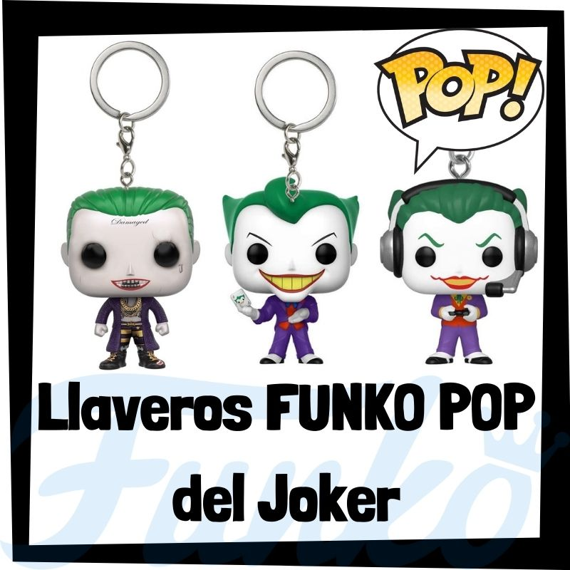 Los mejores llaveros FUNKO POP del Joker