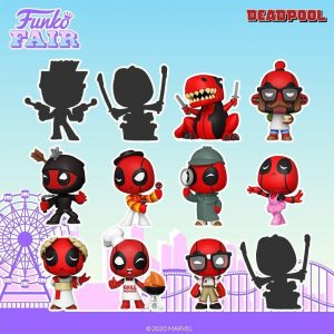 Mystery Minis de FUNKO de Deadpool - FUNKO Fair 2021 Día 4 - Novedades FUNKO POP