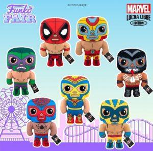 Peluches FUNKO de Marvel Lucha Libre - FUNKO Fair 2021 Día 4 - Novedades FUNKO POP