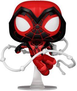 Funko POP de Miles Morales Crimson Cowl Suit - Los mejores FUNKO POP de Miles Morales - FUNKO POP de videojuegos
