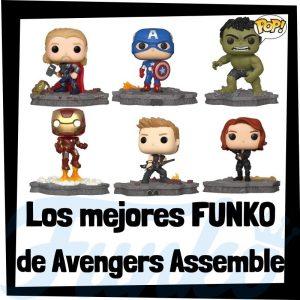 Los mejores FUNKO POP de Avengers Assemble de los Vengadores originales de Marvel - Funko POP de colección de Avengers Assemble de los Vengadores - Funko POP de personajes de Marvel