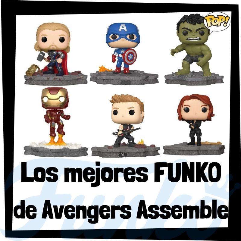 Los mejores FUNKO POP de Avengers Assemble Colección de Marvel