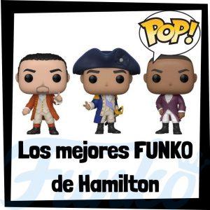 Los mejores FUNKO POP de Hamilton el musical - Los mejores FUNKO POP de personajes de Hamilton