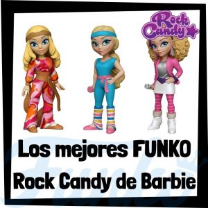 Los mejores FUNKO Rock Candy de Barbie - Figuras Funko Rock Candy de Barbie - Muñecas Rock Candy de Barbie de FUNKO POP