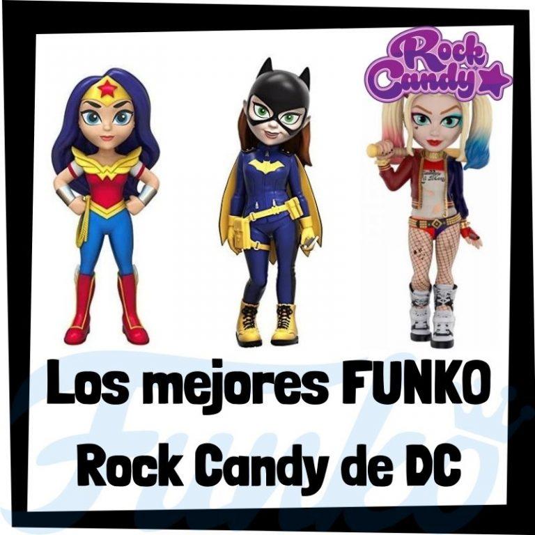 Los mejores FUNKO Rock Candy de DC