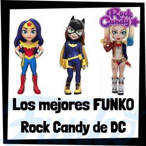 Los mejores FUNKO Rock Candy de DC - Figuras Funko Rock Candy de DC - Muñecas Rock Candy de heroínas de DC de FUNKO POP