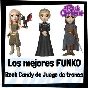 Los mejores FUNKO Rock Candy de Juego de Tronos - Figuras Funko Rock Candy de Game of Thrones - Muñecas Rock Candy de Juego de tronos