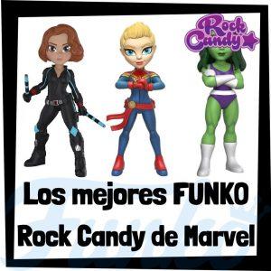 Los mejores FUNKO Rock Candy de Marvel - Figuras Funko Rock Candy de Marvel - Muñecas Rock Candy de heroínas de Marvel