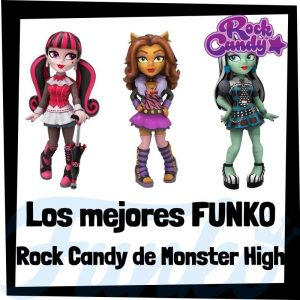 Los mejores FUNKO Rock Candy de Monster High - Figuras Funko Rock Candy de Monster High - Muñecas Rock Candy de Monster High de FUNKO POP