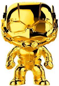 FUNKO POP de Ant man Chrome de Marvel Studios 10 - Los mejores FUNKO POP Chrome dorado