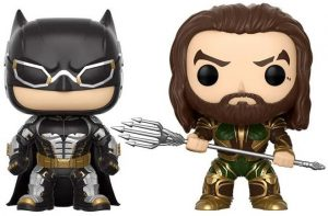 FUNKO POP de Aquaman y Batman de la Liga de la Justicia de Zack Snyder - Los mejores FUNKO POP Snyder Cut de Justice League
