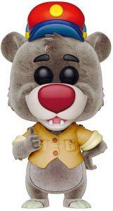 FUNKO POP de Baloo flocked del Libro de la Selva - Los mejores FUNKO POP Flocked con pelo - FUNKO POP especiales Flocked