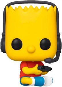 FUNKO POP de Bart Simpson Gamer de los Simpsons - Los mejores FUNKO POP de los Simpsons - FUNKO POP de series de dibujos