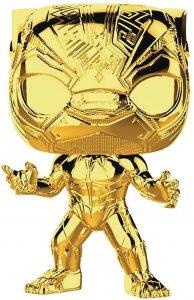 FUNKO POP de Black Panther Chrome de Marvel Studios 10 - Los mejores FUNKO POP Chrome dorado
