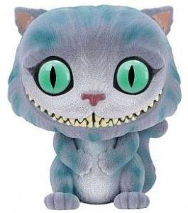 FUNKO POP de Cheshire Cat flocked de Alicia en el país de las Maravillas - Los mejores FUNKO POP Flocked con pelo - FUNKO POP especiales Flocked