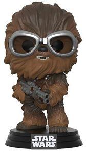 FUNKO POP de Chewbacca Han Solo flocked de Star Wars - Los mejores FUNKO POP Flocked con pelo - FUNKO POP especiales Flocked