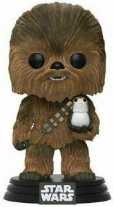 FUNKO POP de Chewbacca y Porg flocked de Star Wars - Los mejores FUNKO POP Flocked con pelo - FUNKO POP especiales Flocked