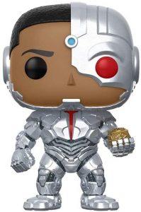 FUNKO POP de Cyborg con caja madre de la Liga de la Justicia de Zack Snyder - Los mejores FUNKO POP Snyder Cut de Justice League
