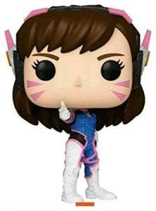 FUNKO POP de D. VA Glitter - Los mejores FUNKO POP con purpurina - FUNKO POP especiales Glitter