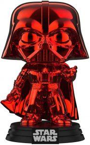 FUNKO POP de Darth Vader Chrome Red - Los mejores FUNKO POP Chrome