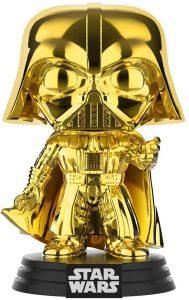 FUNKO POP de Darth Vader Chrome dorado - Los mejores FUNKO POP Chrome