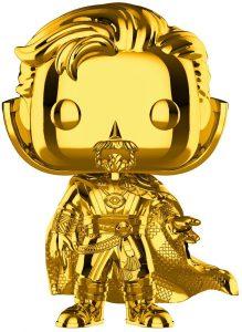 FUNKO POP de Dr. Strange Chrome de Marvel Studios 10 - Los mejores FUNKO POP Chrome dorado