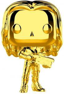 FUNKO POP de Gamora Chrome de Marvel Studios 10 - Los mejores FUNKO POP Chrome dorado