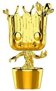 FUNKO POP de Groot Chrome de Marvel Studios 10 - Los mejores FUNKO POP Chrome dorado
